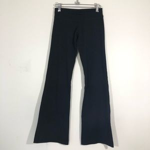 "Lululemon 4 Black Stretch 32"" Flare Pants"